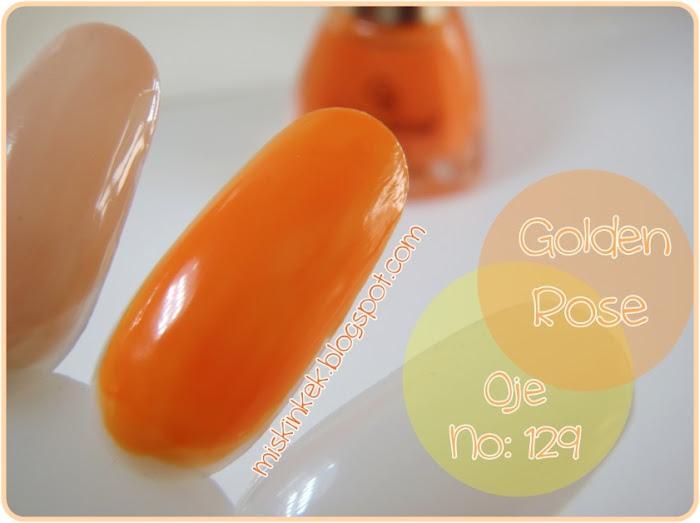 Golden Rose-Oje-Nail Polish