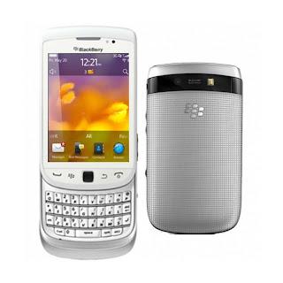 blackberry torch 9810 white
