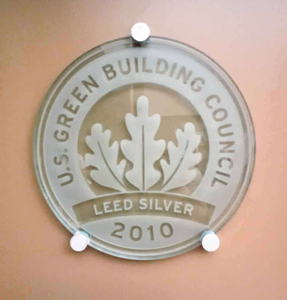 Monrovia Public Library A Leed Silver Certified Building