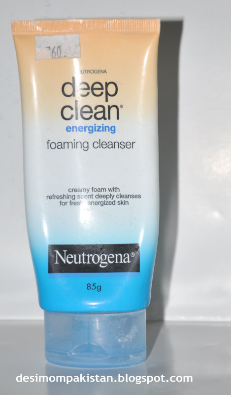 NEUTROGENA DEEP CLEAN ENERGISING FOAMING FACE WASH