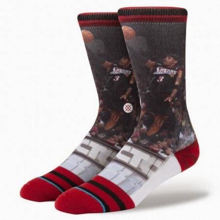 Allen Iverson Socks