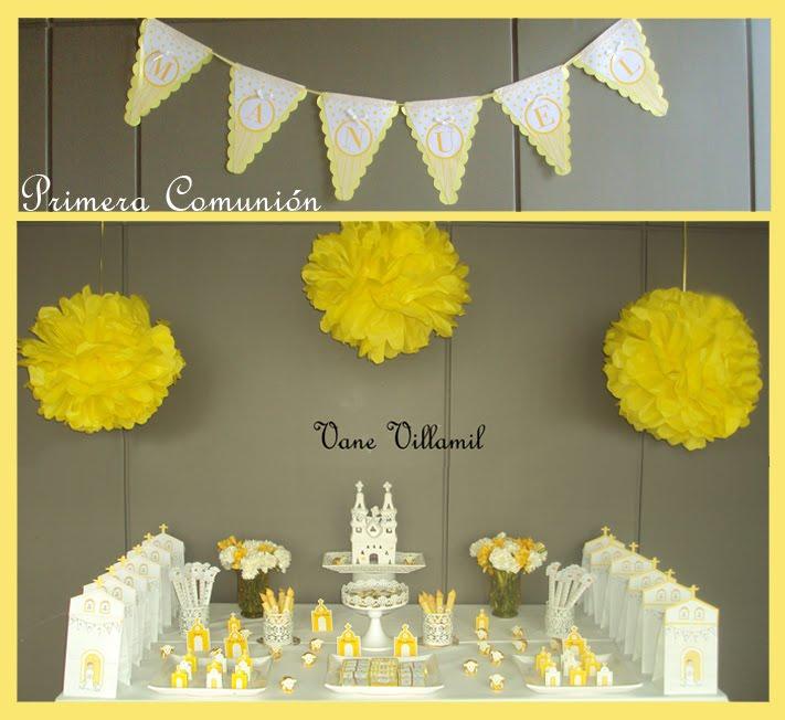Comunión Amarillo y Blanco