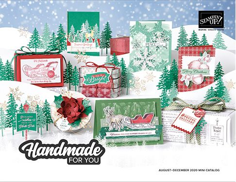 View the Stampin' Up! 2020 August-December Mini Catalogue online