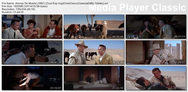 Arenas de Muerte (1957) | Capturas de pantalla | Pelicula