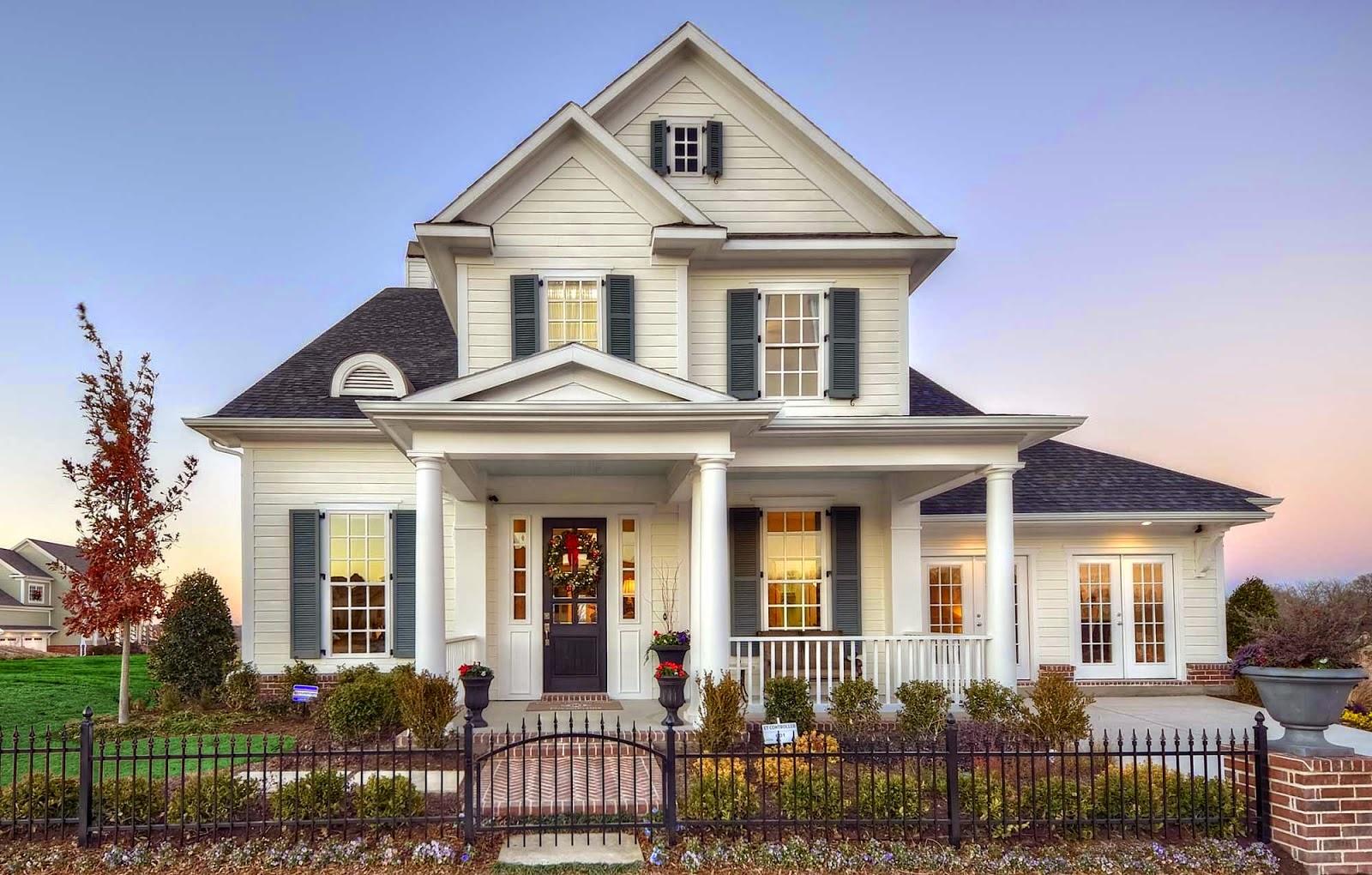 contoh rumah klasik, rumah klasik minimalis