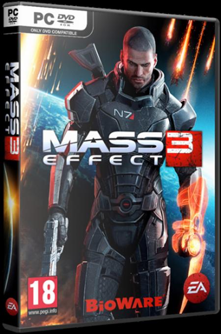 Скриншоты из Mass Effect 3.