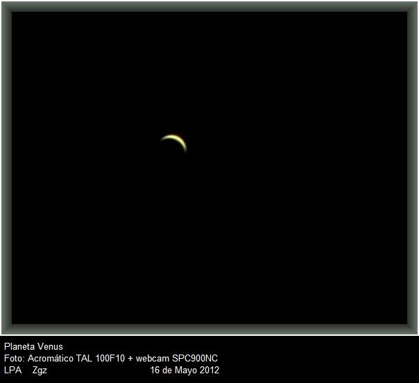 Venus, 16 Mayo 2012 Venus-Tal