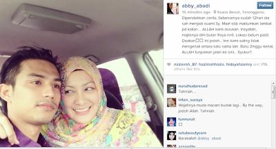Abby Abadi Sudah Berkahwin.. Tahniah!