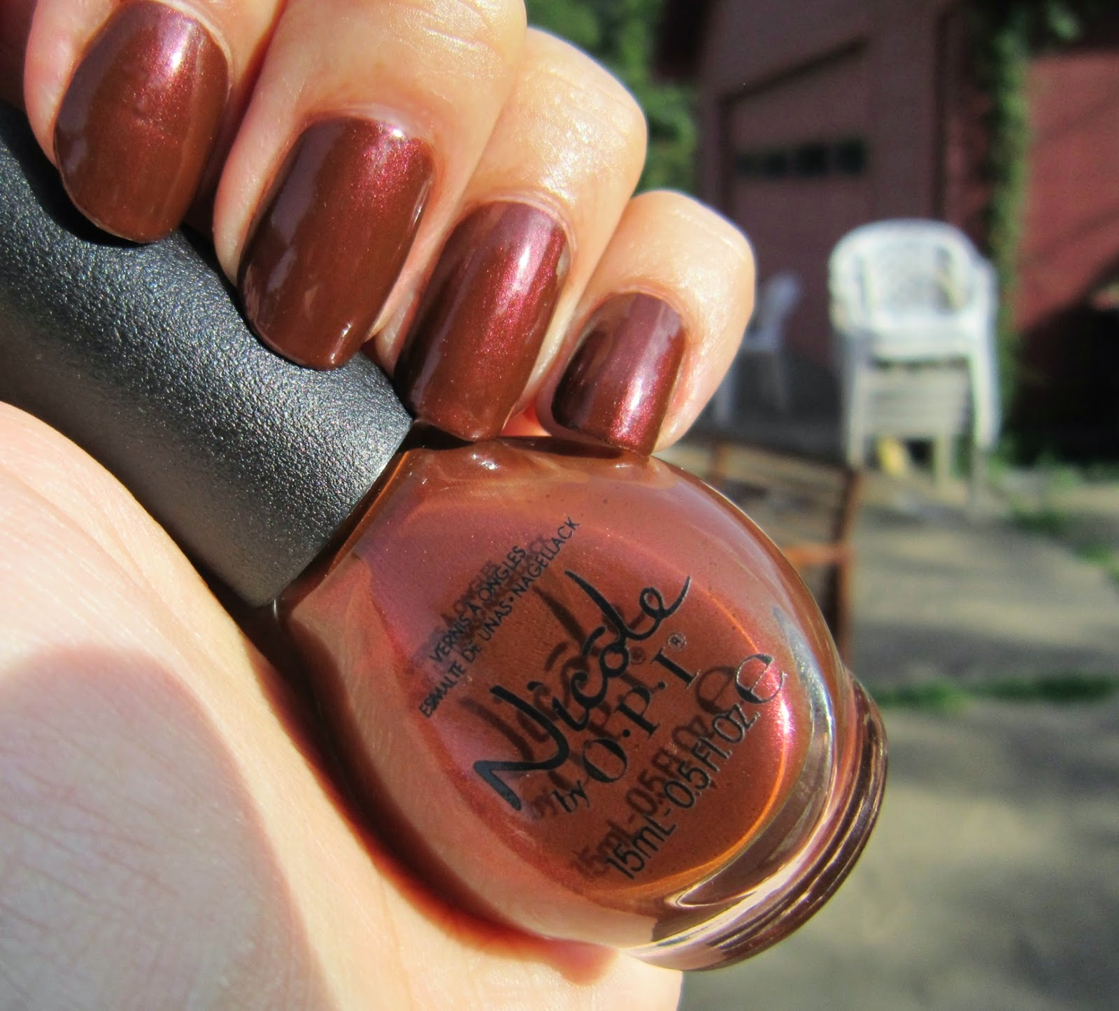 Concrete and Nail Polish: Nicole By OPI