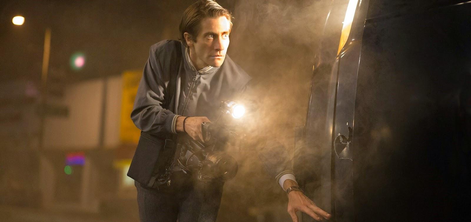 Jake Gyllenhaal em mais um trailer do suspense O Abutre, com Bill Paxton e Rene Russo