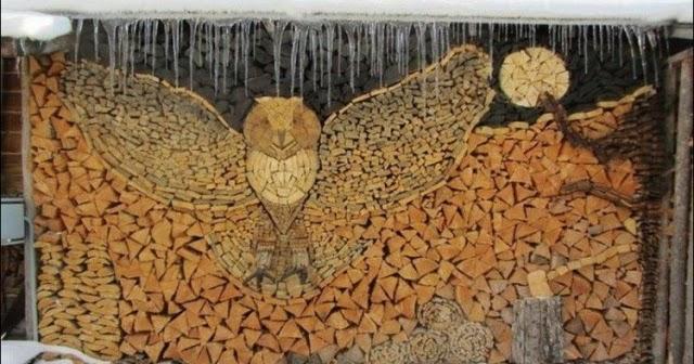 Le blog de bois de chauffage net l 39 art de ranger son bois - Ranger le bois de chauffage ...