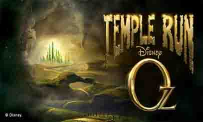 New Temple Run OZ for android devices