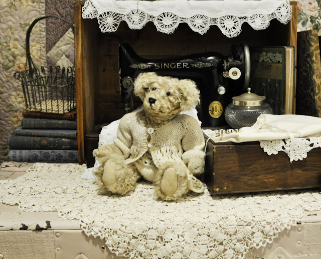 vintage-style bear