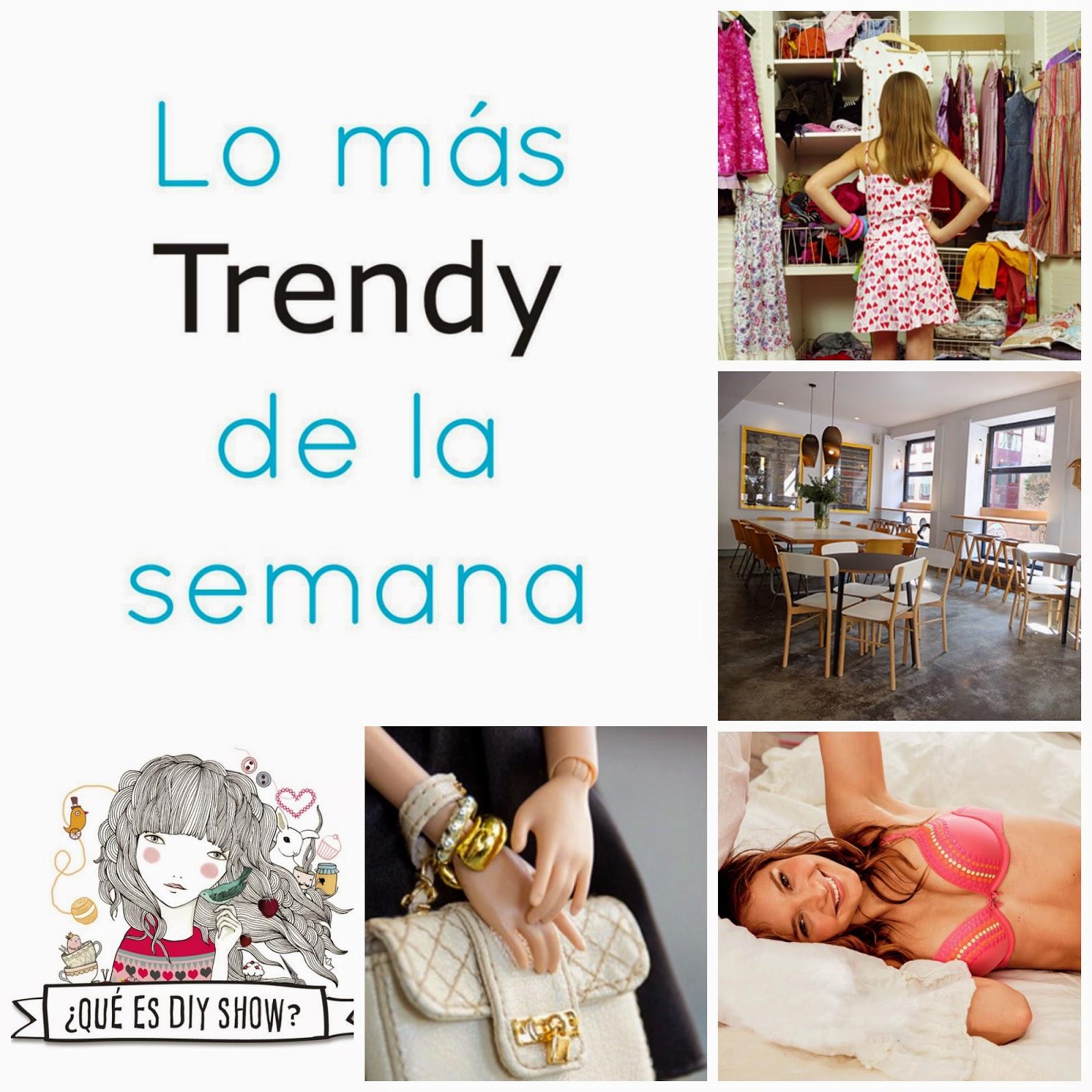 DIY show, Barbie instagram, mejores cafés Madrid, reordena tu armario