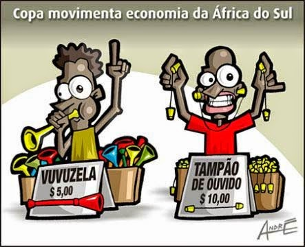 Copa do Mundo, Vuvuzela, 2010, Economia, África do Sul, Vendedores