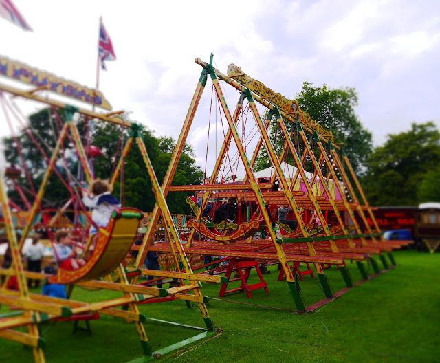 Swingboats at Carters Steam Fair