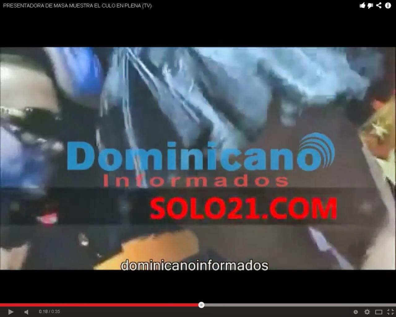 PRESENTADORA DE MASA MUESTRA EL CULO EN PLENA (TV) | WWW ...