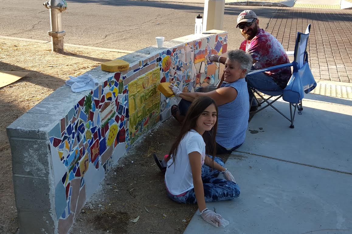 Community arts and murals for Community mural