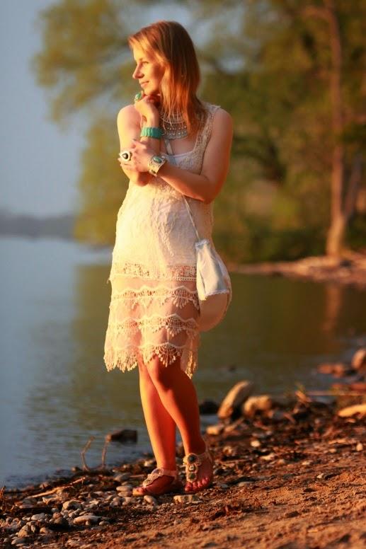 Solitaire by Khosla Crochet Dress