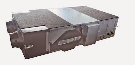 Nuevo recuperador de calor con batería de expansión directa de Panasonic