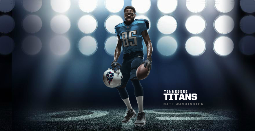 G Uniform: TENNESSEE TITANS 2012 NIKE FOOTBALL UNIFORM