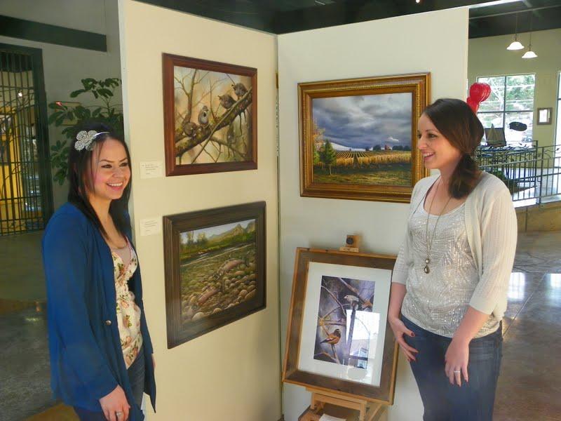 Rod Daut and Martha Flores Art Blog: Got'r Done...Martha's Show at the ...