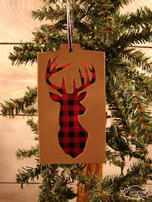 diy deer tag ornaments