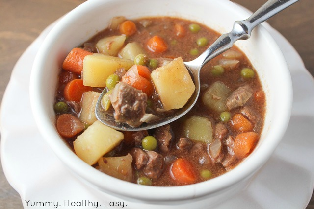 Simple & Delicious Crock Pot Beef Stew