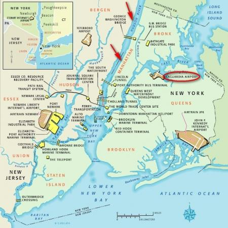 Hudson River In Usa Map Hudson Map Of The United States - Hudson river on us map