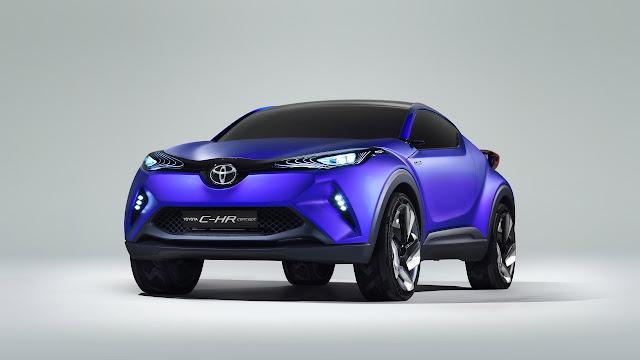 2015 Toyota C HR Concept