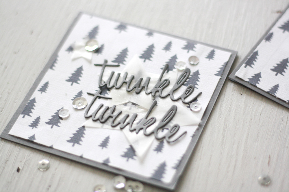 Christmas Cards With Sizzix Printable Jklein Daily