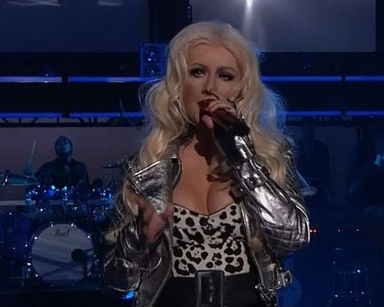the voice christina aguilera hot pants. Christina Aguilera Stage