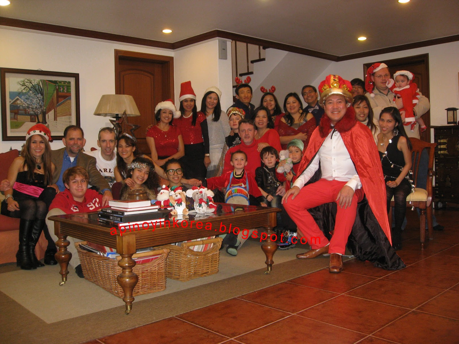 A Pinoy in Korea: Our 2012 Merry Christmas Party In Seoul!