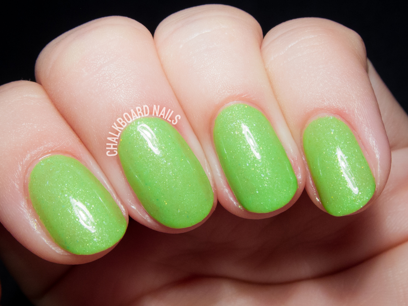 Serum No. 5 Kiwi Glow Now? via @chalkboardnails