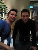 Con Eric Pearl Barcelona 2012