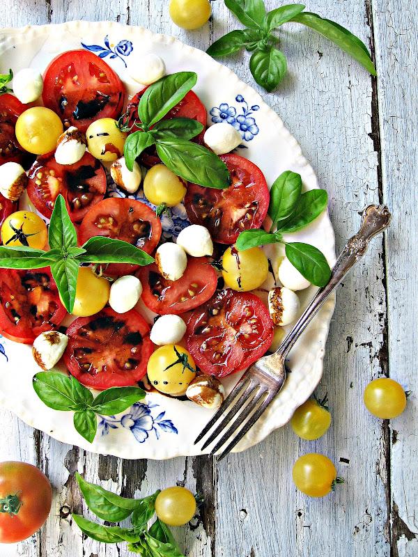 sweetsugarbean: Best of You: Caprese Salad