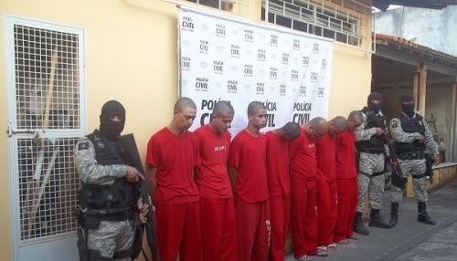 Oito pessoas são presas durante operação em Cristais, MG