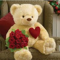 Big Teddy Bears For Valentines Day Funny Animal
