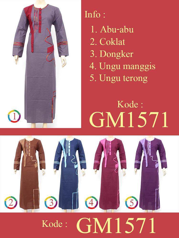 Gamis Cantik Muslimah GM1571