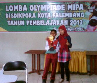 Marini S Pd I Juara Harapan Iii Olimpiade Mipa Disdikpora Tingkat Kota Palembang 2013