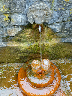 Red Lion Spring, Chalice Well, Copyright 2012 Kaliani Devinne