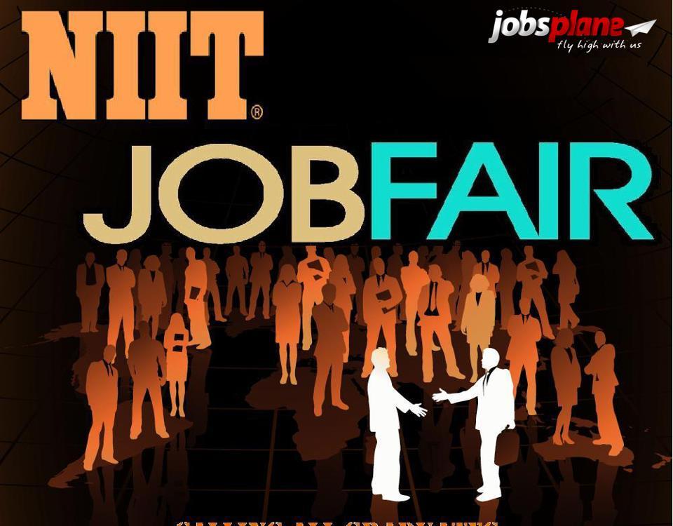 niit job fair 2014 for b e b tech mca b sc bca