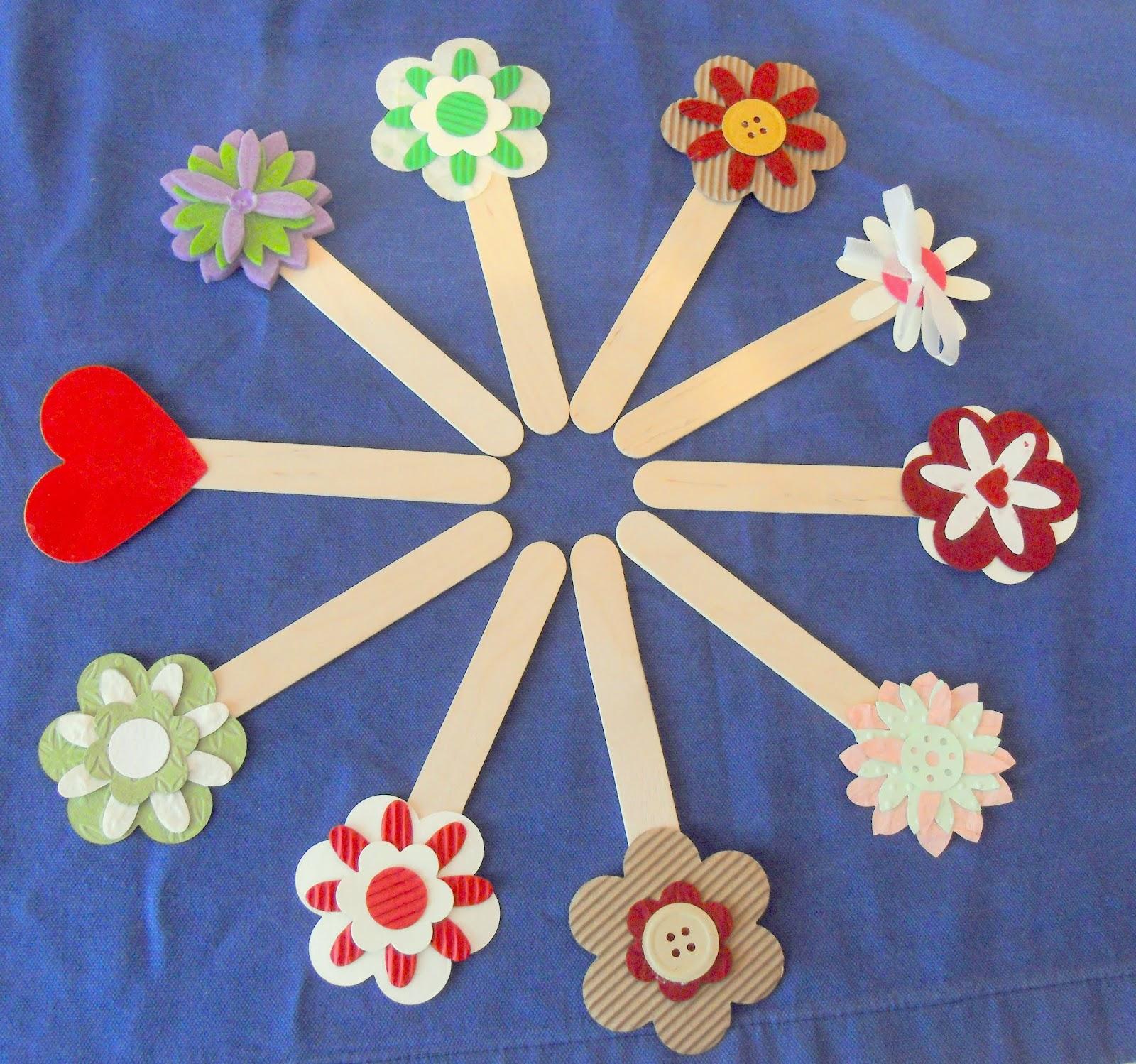 Lumaca matta handmade with love segnalibri abbassalingua for Lavoretti con abbassalingua