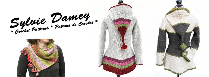 Sylvie Damey - Patrons de crochet et Ateliers en Vercors
