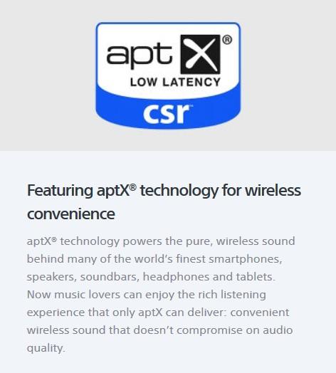 Sony A-Series aptX