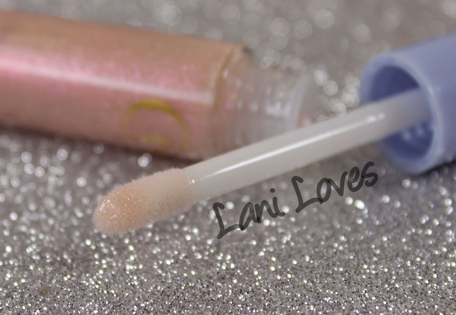 MAC Cinderella: Glass Slipper Lipglass Swatches & Review