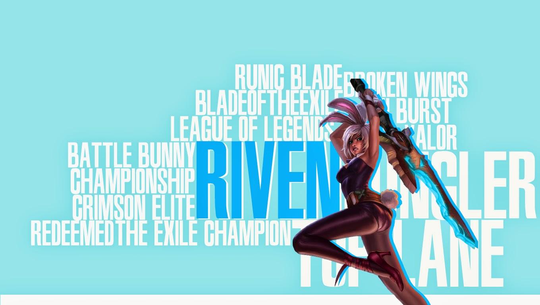 Tải hình ảnh Riven LOL làm ảnh nền ảnh bìa full HD
