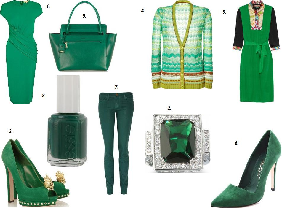 2013 pantone color of the year 17 5641 emerald for Emerald green bathroom accessories