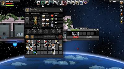 Заправка корабля в Starbound