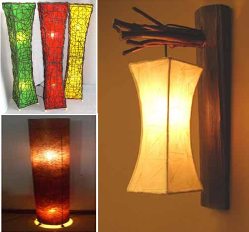 Beautiful Homemade Lamps : Best home decorations beautiful handmade lamp from bali